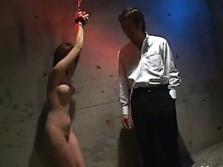 Handcuffed Asian Fucked By Two Guys