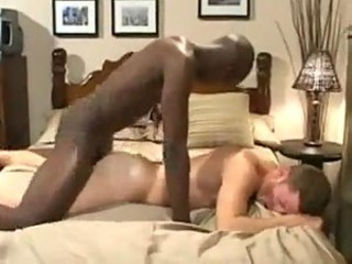 Anal sex with black and white guy
