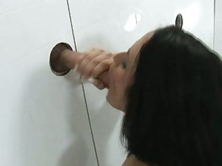 There's no glory in servicing a glory hole unless you do it like Carmella Bing