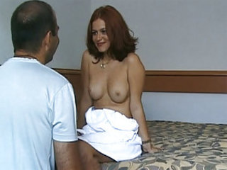 Suzan Wienold is a really pretty redhead girl from Hungary, there's no way that she should ever have to be in Porn...but as we all know, Pierre loves a Challenge! Today he's going to attempt to get this sultry babe out of that sun dress and in to his bed.