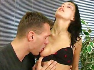 Dicksucking Mili Jay pleasing her guy
