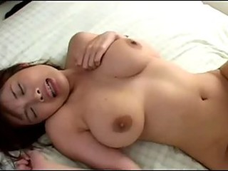 Sexy asian girl with big tits