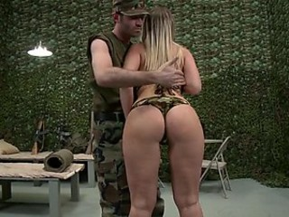 Big Assed Anal Blonde Devon Lee Gets Covered In Oil and Then Fucked