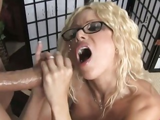 Gorgeous Gina Lynn loves finger fucking her moist cunt