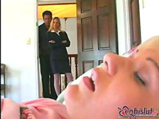Babysitter Nadia finds a vibrator in Candi Apple