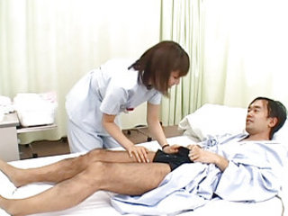 Yuma is a hot and horny Asian nurse who enjoys her oatients and caring for them. She has a reputation of being very good with her mouth and sucking cock! She likes to jerk off her patients and play with the cum in her hands! She is a wild nurse who is rea