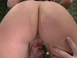 Big Assed Anal Blonde Devon Lee Gets Covered Roughly Oil and Then Fucked