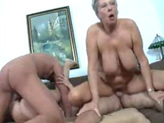 Swinging party with German matures