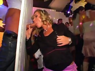 Girls Doing Lesbian Shit in Glory Hole Party
