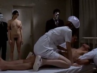 Audience Watching an Asian Nurse Possessions Fucked