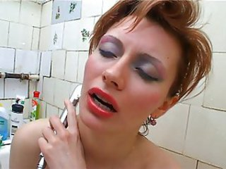 Bathroom Mature Russian