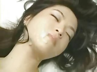 Asian Cumshot Facial Cute Korean