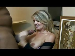 Bored MOM -Wife Goes Black