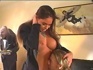Busty Brunette Teen with Perfect Ass gets Banged
