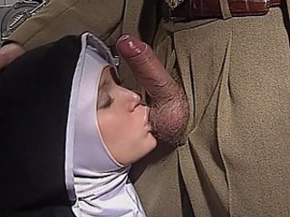 Blowjob Clothed Nun Uniform