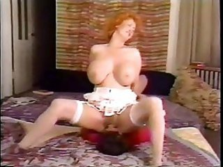 Big Tits Facesitting Licking Mature Redhead Stockings