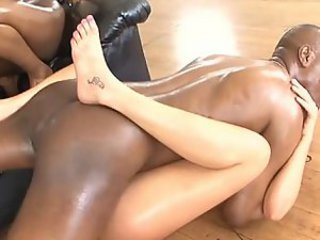Hardcore Interracial Oiled