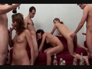 Group Sex In Russian Dorm