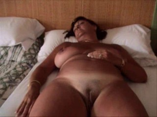 Amateur Big Tits Mature Pussy Shaved Sleeping Wife