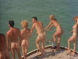 classic nudist camp scene