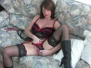 Boots and Lingerie JOI