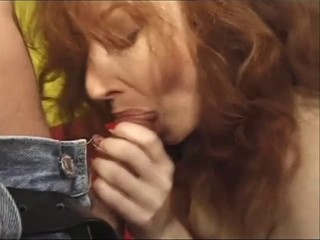 British slut Red gets...