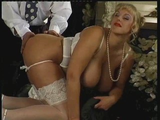 Big Tits Blonde Doggystyle Hardcore Lingerie MILF Natural Stockings