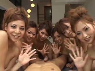 Japanese 6 Girls 1 Lucky...
