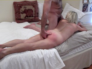 Low-spirited Spanking Massage Video 3