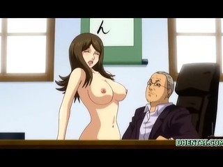 Busty Japanese hentai hot...