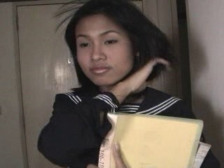 Asian shemale schoolgirl