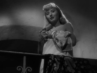 Barbara Stanwyck in nothing but a towel
