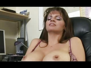 Big Boobs thither orgasm