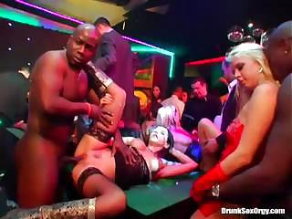 Big Orgy At The Party