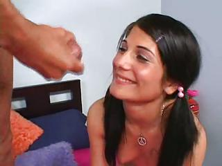 Dahlia Denyle Shows That She Is Not An Innocent Teen And Gets Fucked Hard.