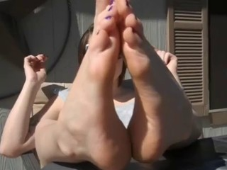 FUCK MY FEET