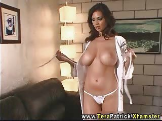 Tera Patrick - Hot fuck with a huge cock