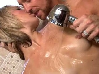 Amy Brooke Getting Cock Pounding Pussy In Shower