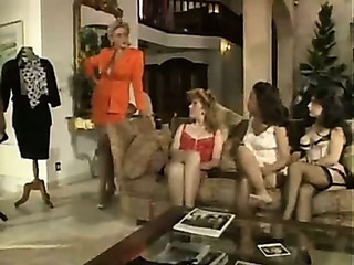 French Milf Fucked And Then Does Lesbian Group Sex