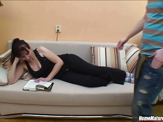 Teacher Visits A Naughty Student At Home And Gets Creamed