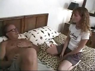 Molly Rome Groped By Brutal Old Man