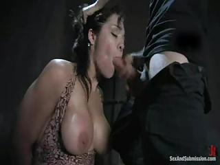 Latina Girl Tied Up And Face Fucked