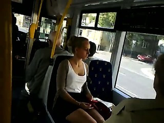 Mini Skirt Public Cam And Cum!!!