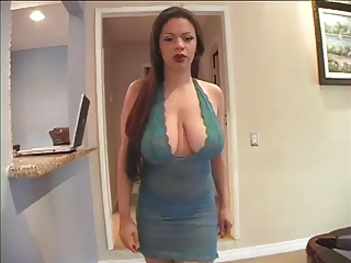 Amazing Big Tits Brunette Long hair Pornstar