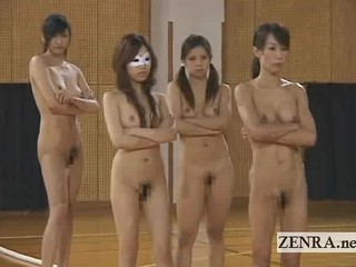 Nudist Japan Athletes Play Bizarre Game Of Drip Of Mel�e