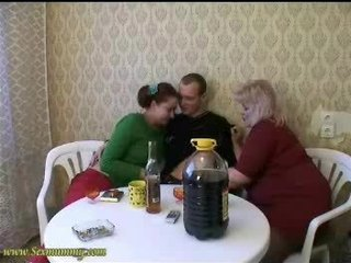 Amateur Daughter Mature Russian Threesome