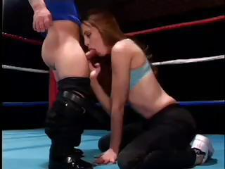 Gwen Having Sex With A Midget Wrestler