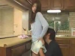 Japanese Wife Fucks Her Husbby Side