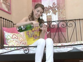 Drunk Russian Teen Masturbation