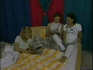 2 Young Lesbian With Four Mature